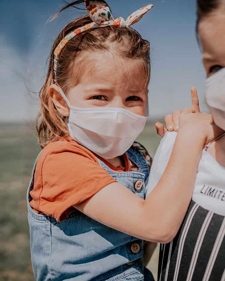 Mundschutz Kinder - Wrapping Solution
