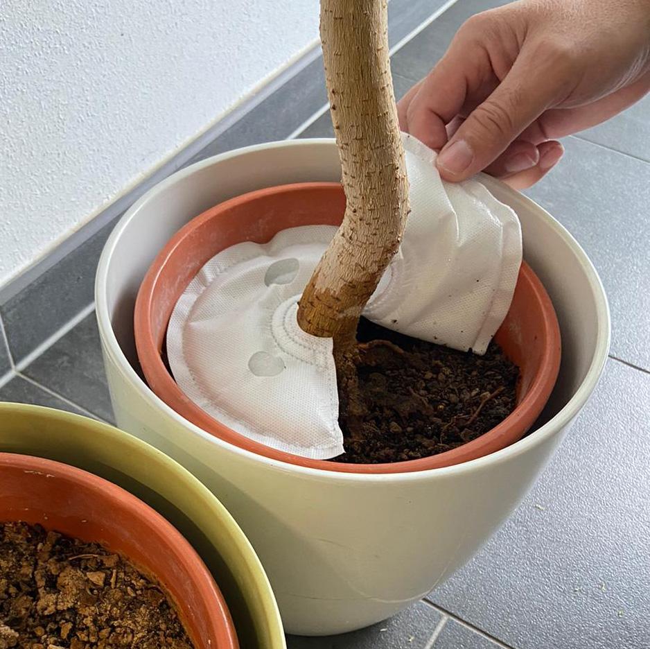 Bewässerungssystem WATY für Blumen, Hecken und Bäume - Rund 20 cm Durchmesser