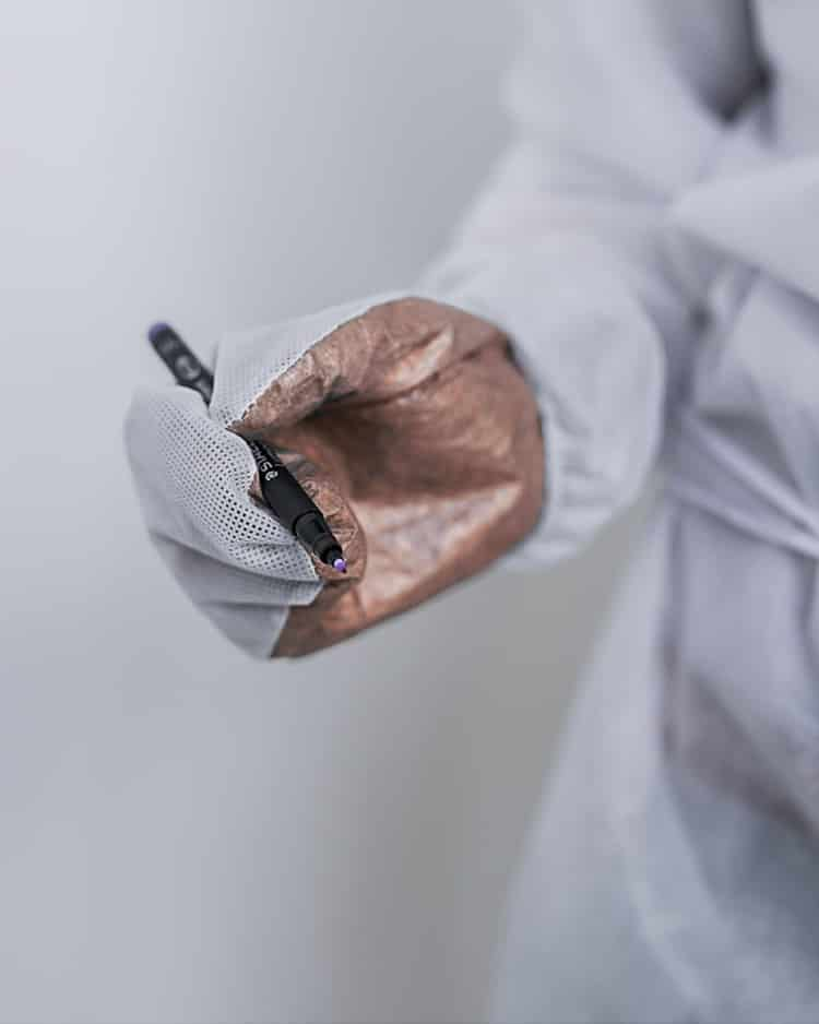 Schutzhandschuhe mit Kupferionenvlies CG1