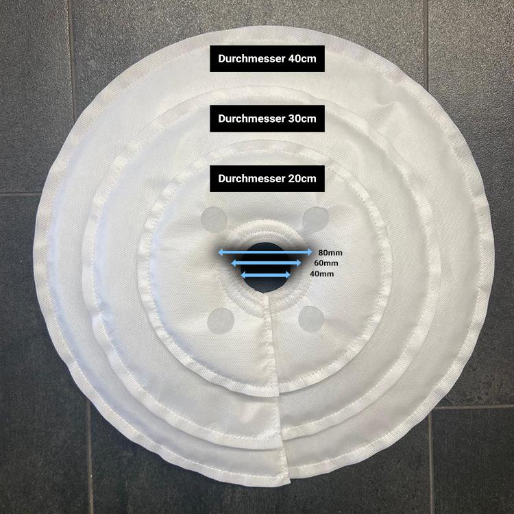 Bewässerungssystem WATY für Blumen, Hecken und Bäume - Rund 40 cm Durchmesser