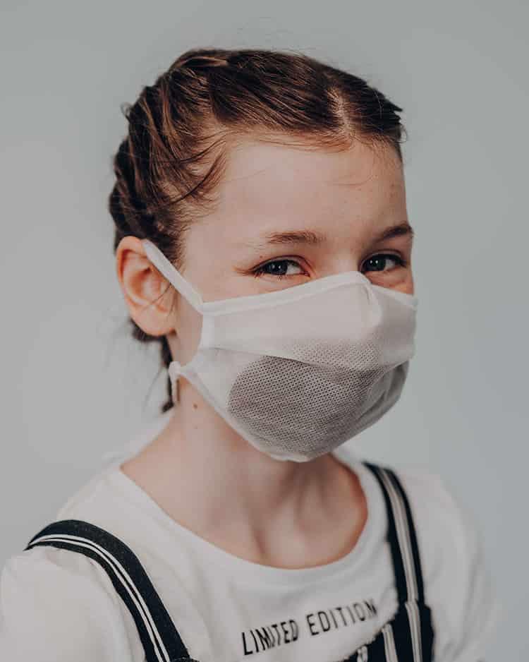 Atemmaske Kinder - Wrapping Solution