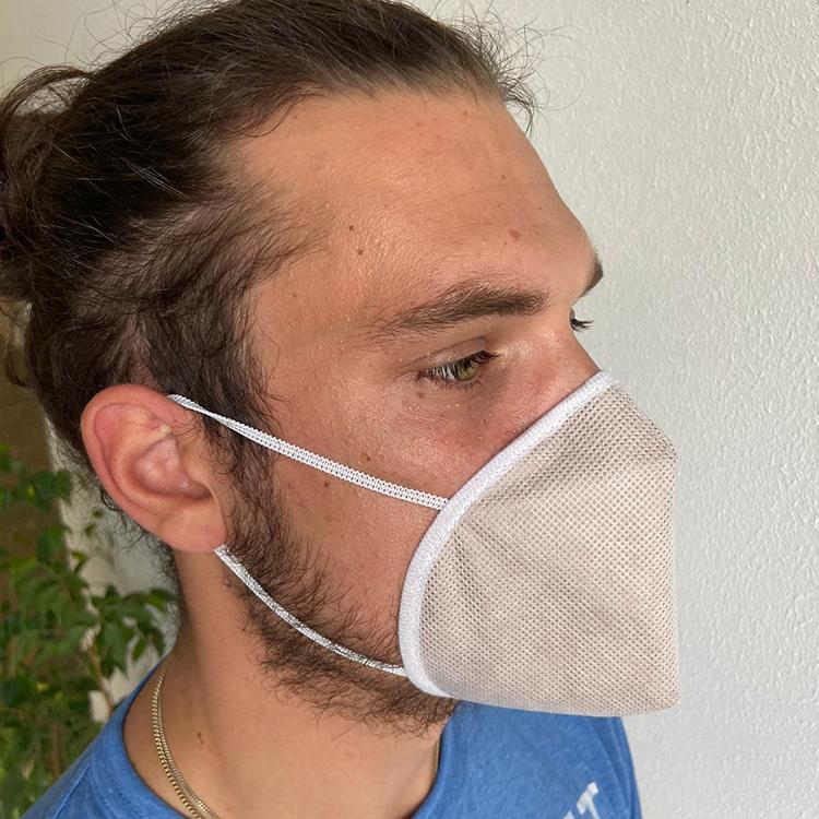 Atemmaske - Guard Mask 1 ohne Ventil - Mittlere Kopfgröße, bevorzugt für Damen (wiederverwendbar / waschbar)