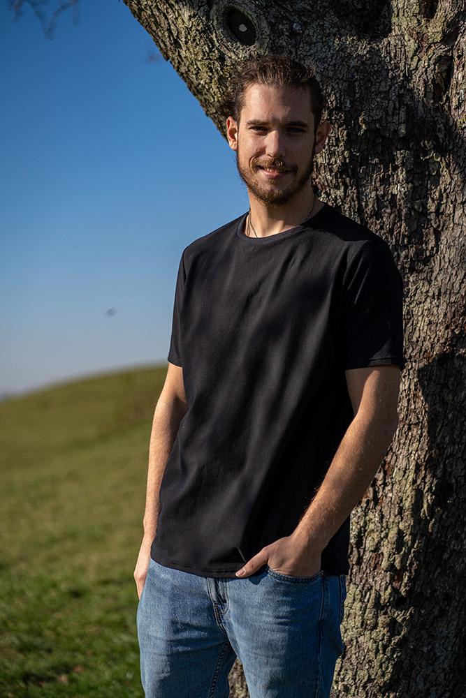 TREEshirt - CO2-reduziertes T-Shirt aus eigener, regionaler Produktion - Schwarz, Unisex