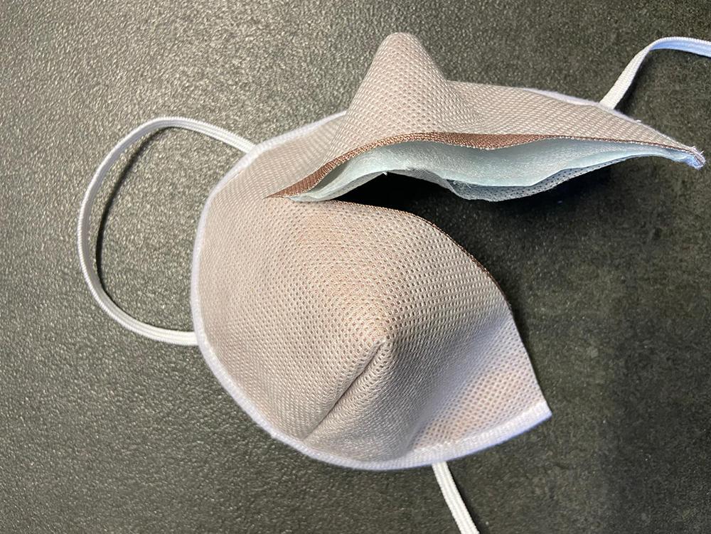 Atemmaske - Guard Mask 1 ohne Ventil, Standardgröße, bevorzugt für Herren (wiederverwendbar / waschbar)